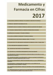 Medicamentos y Farmacia en Cifras 2017