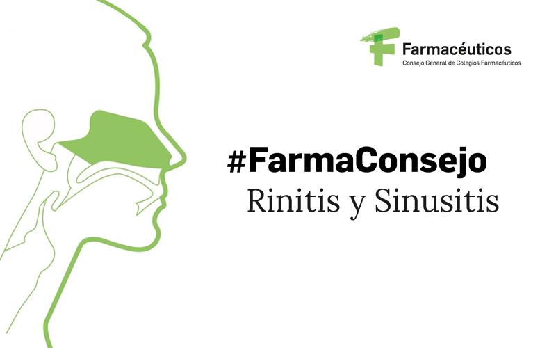 #FarmaConsejo. Rinitis y Sinusitis
