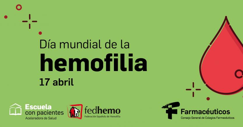 Los farmacéuticos y la Federación Española de Hemofilia unen sus fuerzas con una campaña informativa en el día mundial