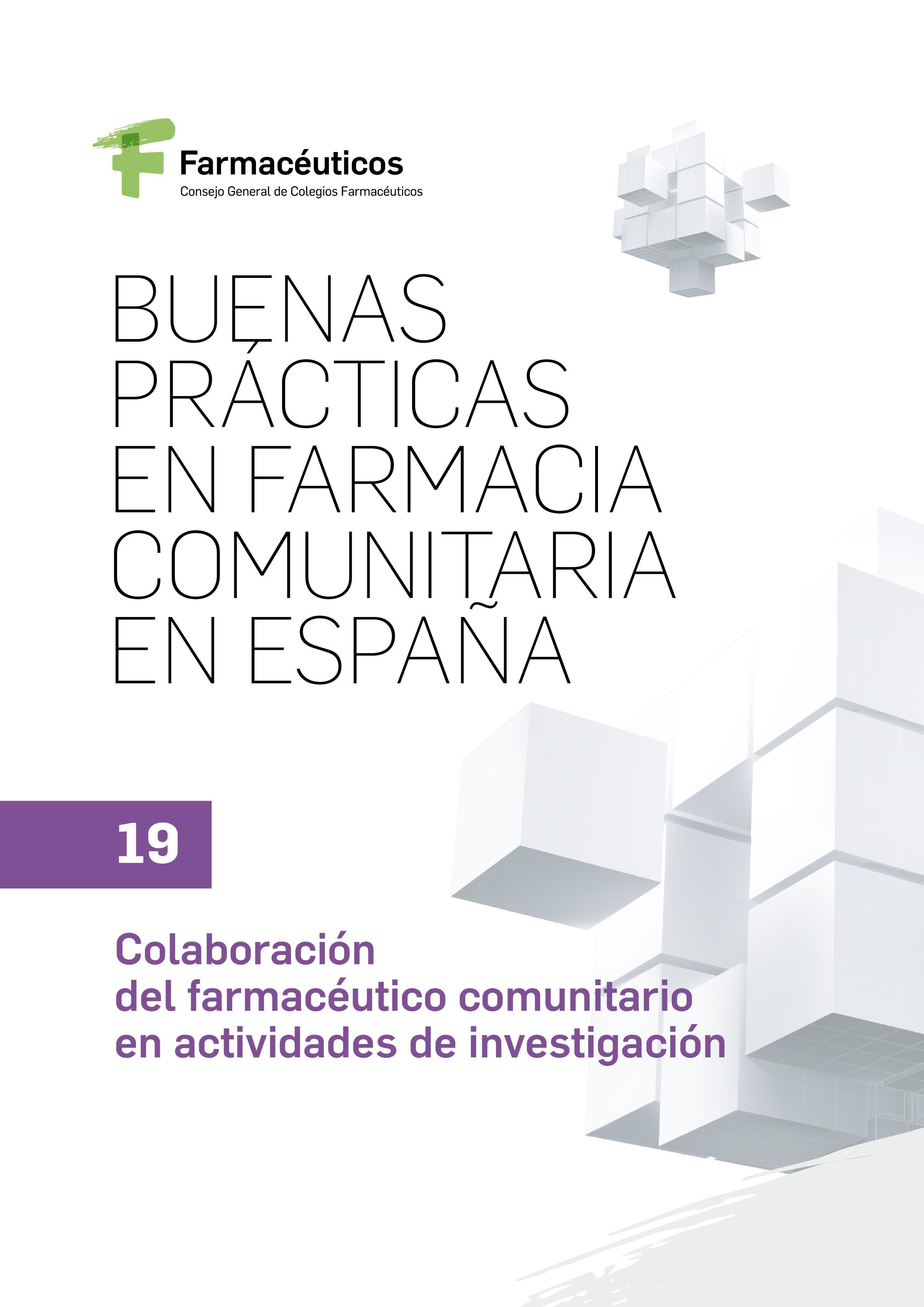 19 – Colaboración del farmacéutico comunitario en actividades de investigación