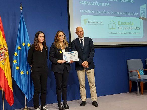 """La """"Escuela con Pacientes"""" del Consejo General, reconocida con el Premio Corresponsables"""