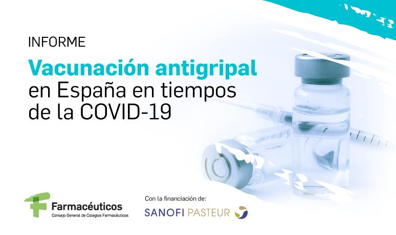El Consejo General publica los resultados de la encuesta sobre vacunación antigripal realizada  durante la campaña 2020-2021